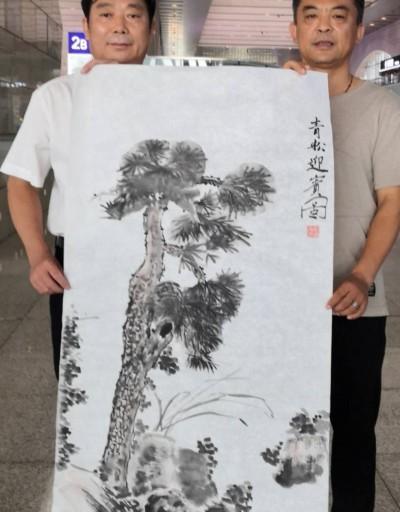 关成湖:丹青魂——画家庞晓辉的笔墨人生
